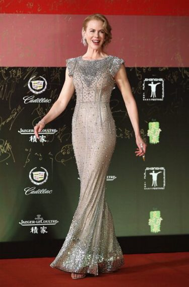JUNE: Nicole Kidman in DOLCE & GABBANA  arrives for the red carpet of the 17th Shanghai International Film Festival at Shanghai Grand Theatre on June 14, 2014 in Shanghai, China. (Getty Images)